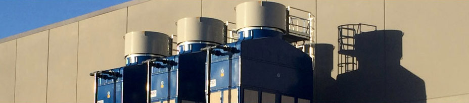 efficient cooling towers of IKS - Principle Evaporation