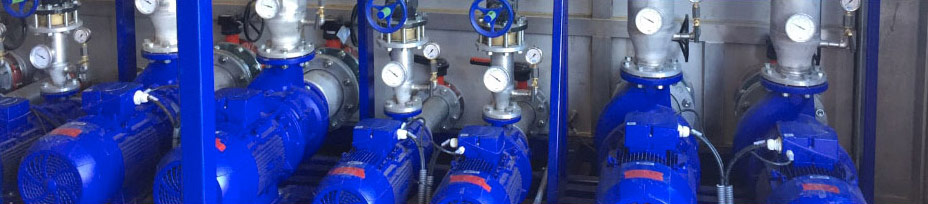 Cooling water systems from IKS - The pump module is a component of the process cooler.